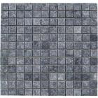 Gio Gres Natuursteen marmer Mozaïek mat Karia Black 2,5 x 2.5 x 1 cm P/M²