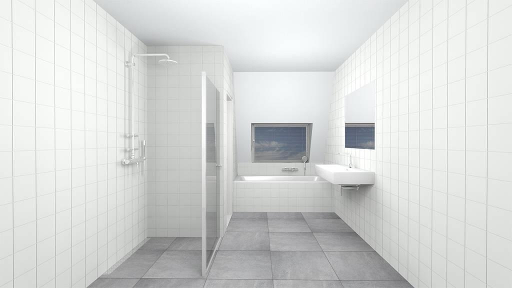 Witte wandtegels 15 15 bouwmaterialen for Matte tegels