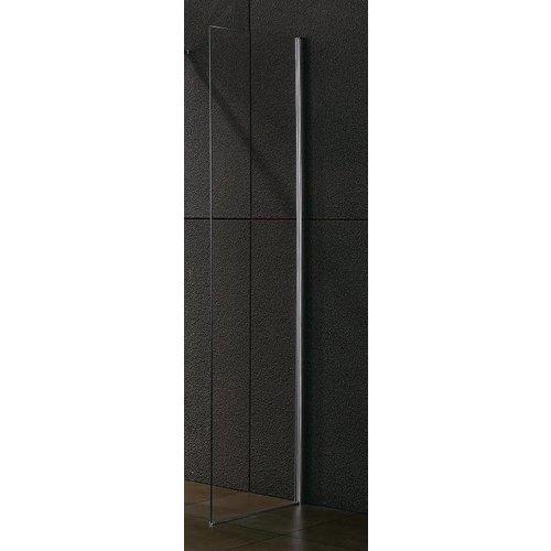 Inloopdouche / zijwand 45x200 cm met muur profiel