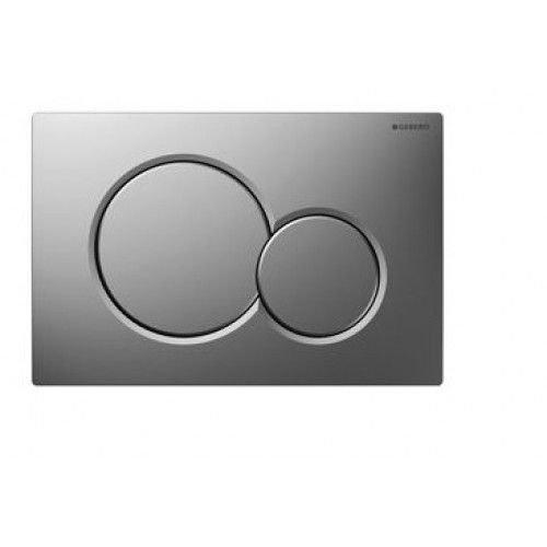 Sigma 01 drukplaat mat-chroom voor de UP300 / UP320 / UP720 inbouwreservoir