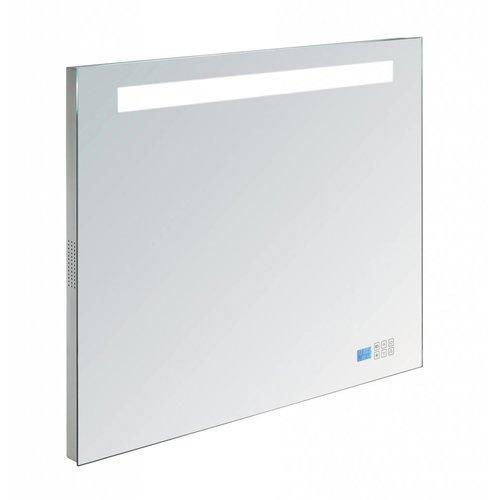 Radio spiegel 80cm met TL verlichting en touch sensor