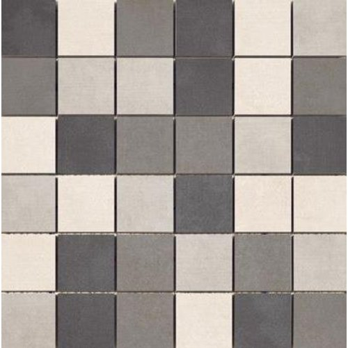 Mozaiek matjes Nantes gris mix 33x33 cm (Prijs Per Mat)
