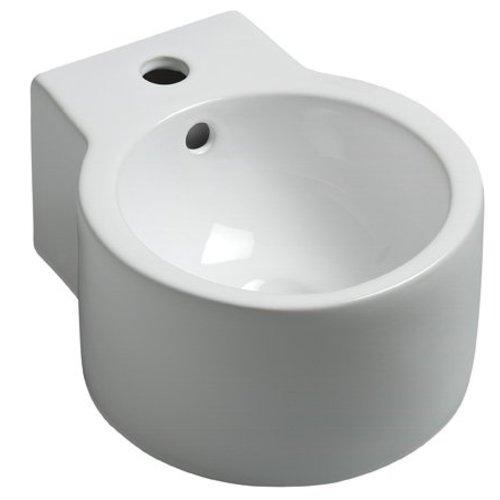 Aqua Splash Keramische Fontein Hera 35X28X1,6 Cm Wit