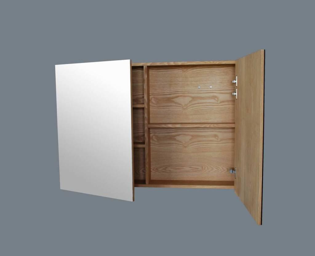 Spiegelkast Wood 100 cm | Megadump Dalen - MegaDump Dalen