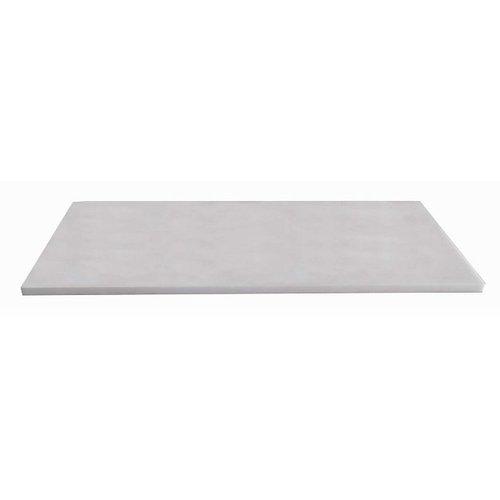 Natuurstenen meubelblad wit 100cm