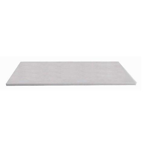 Natuurstenen meubelblad wit 120cm