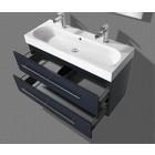 Aqua Royal Badmeubel Compact Line Hoogglans Antraciet 100 cm
