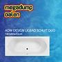 Best Design Ligbad Schuit Duo 180x80x43 cm