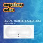 Aqua Viva Ligbad Hatelli Calda duo 180x80x48 cm