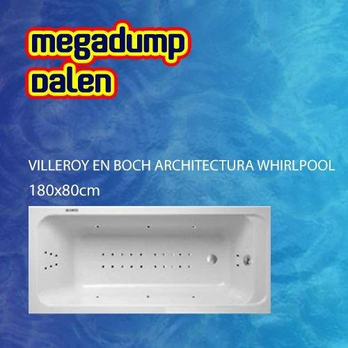 Architectura whirlpool 180x80x50 cm sportpakket deluxe