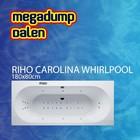 Riho Ligbad Carolina 180x80x48 cm sportpakket deluxe whirlpool