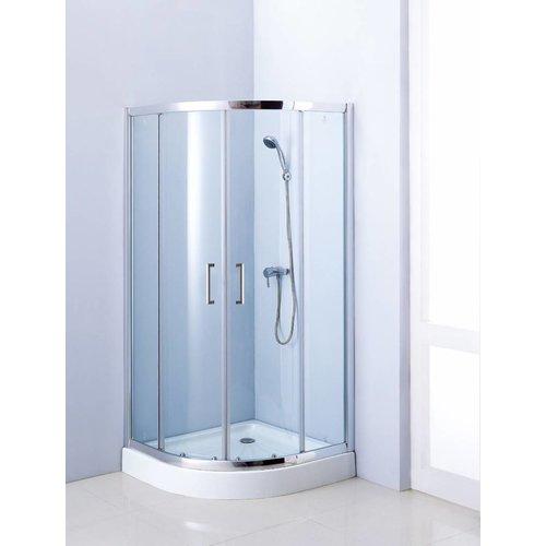 Aqua Royal Douchecabine kwartrond 100x100x192cm met schuifdeur