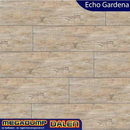 Houtlook vloertegel Echo Gardena 16,2x100 cm P/M²