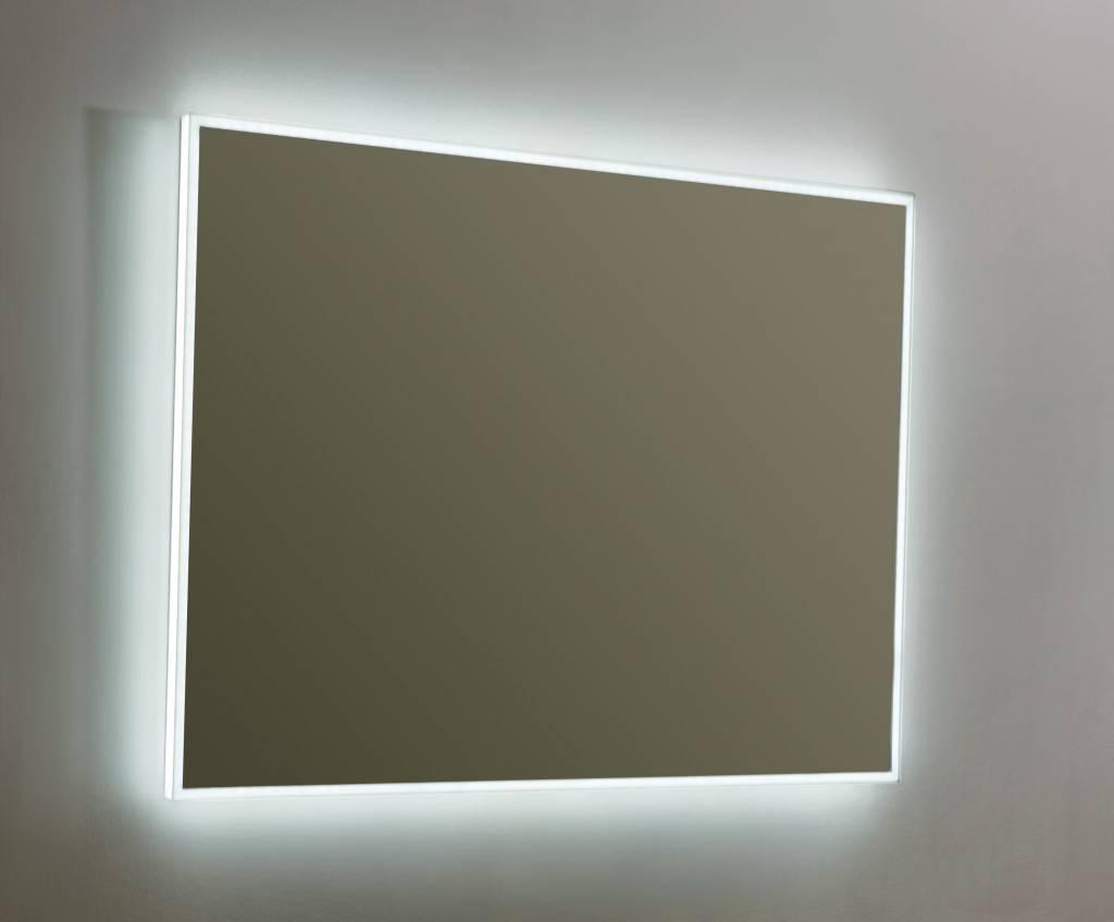 Spiegel Voor Badkamer : Spiegel infinity cm met led verlichting megadump dalen