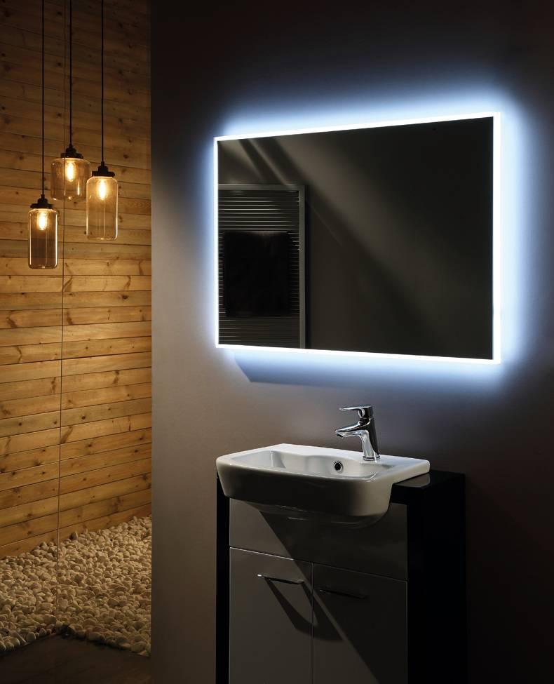 Spiegel Infinity 80 cm met led verlichting | Megadump Dalen ...