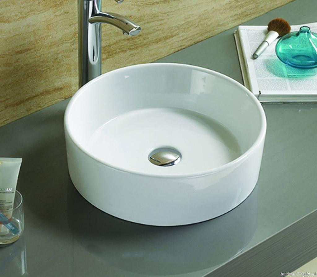 Keramische waskom Florens 38,5 x 38,5 x 12 cm | Dalen - MegaDump Dalen