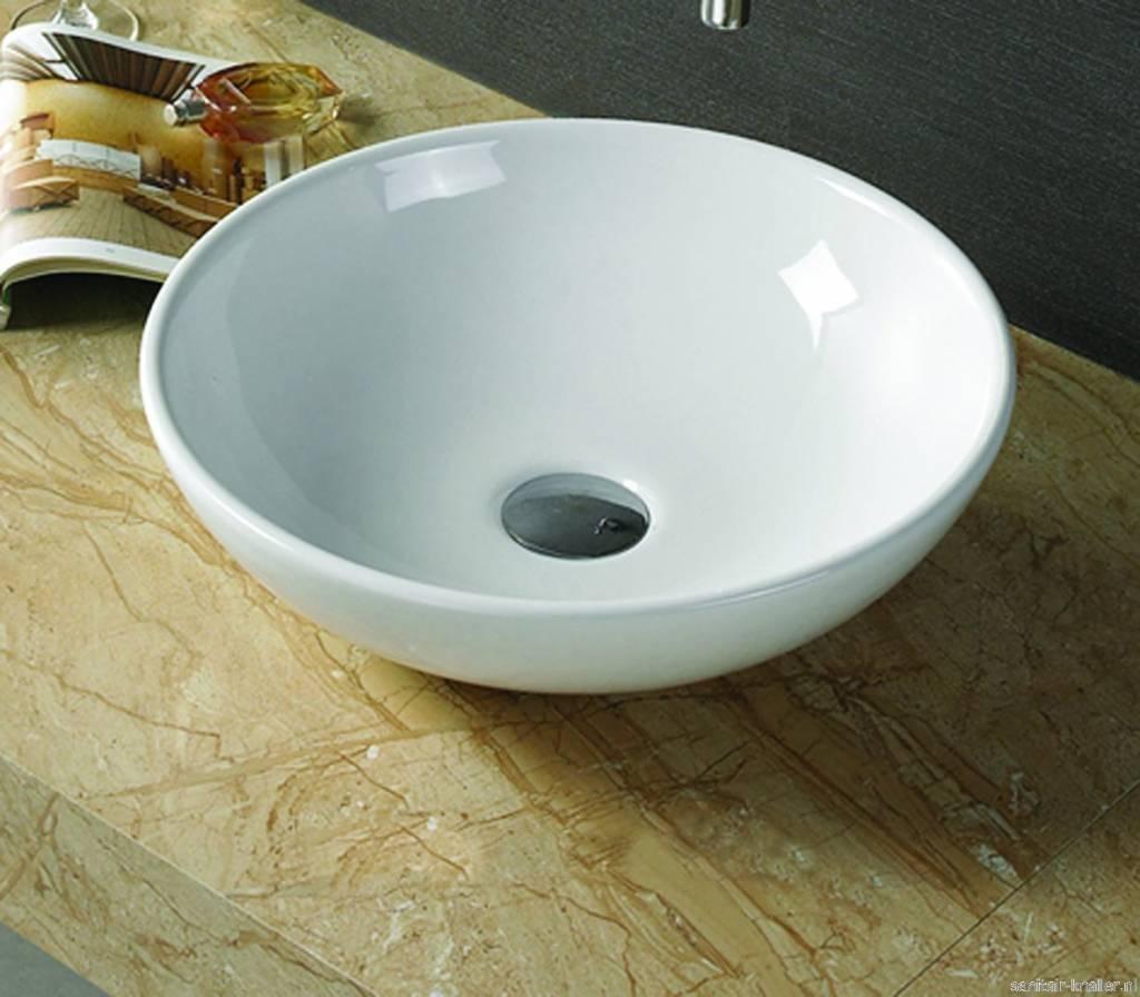 Keramische waskom valencia 41 x 41 x 12 cm dalen megadump dalen - Uitzonderlijke badkamer ...