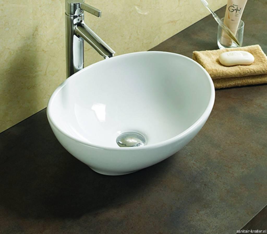 Badkamer Showroom Zaandam ~ royal keramische waskom vienna 40 5x33x14 cm de vorm van de waskom