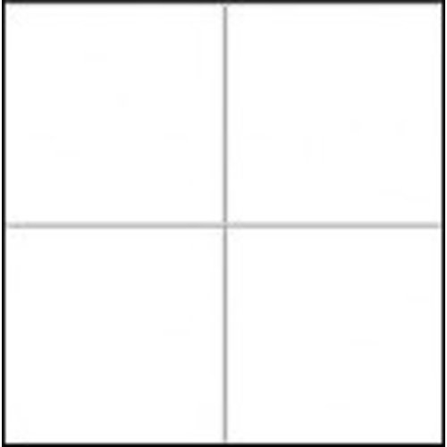 Wandtegel 15x15 Hoogglans Wit P/M²