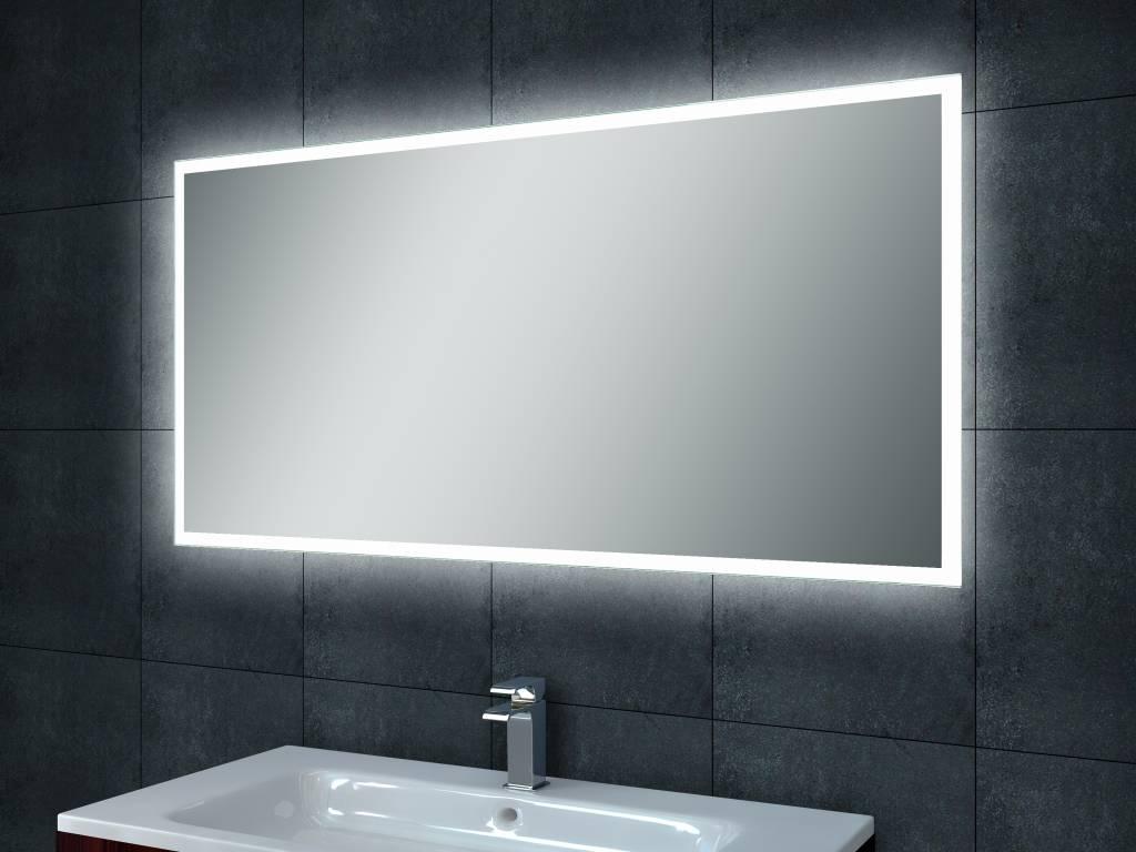 aqua splash quattro dimbare led spiegel 100x60cm spiegels megadump dalen. Black Bedroom Furniture Sets. Home Design Ideas
