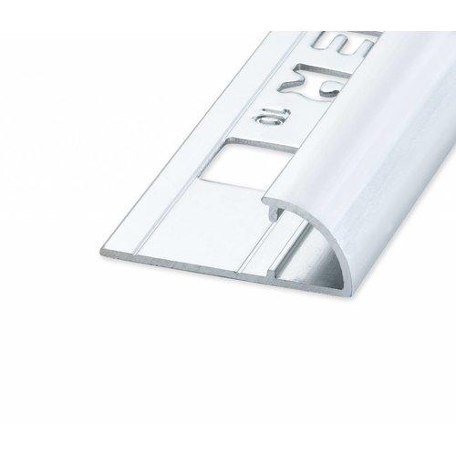 Tegelprofiel Rondex rond open glanzend zilver