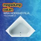 Wisa Wavedesign Hoekbad Filia 145x145x48 cm