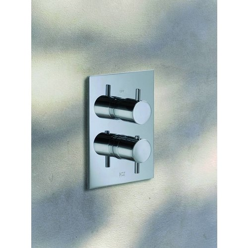 Laddy Inbouw Thermostaat Met 2-Weg Stop-Omstel 009