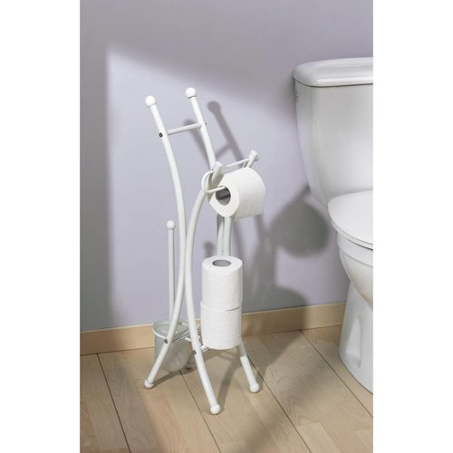 toiletrolhouder set Corfou wit