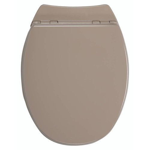 Wc-Zitting Serenity² Taupe Bruin Soft-Close