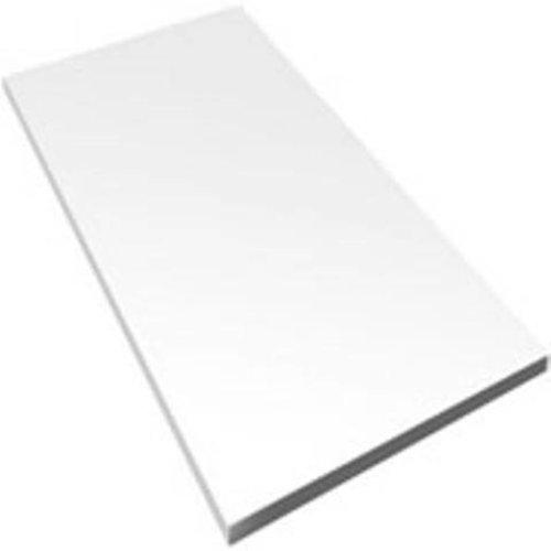 Wandtegels 30x90 glans wit gekalibreerd P/M²