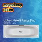 Aqua Viva Ligbad Hatelli Fresca duo 180x80x44 cm