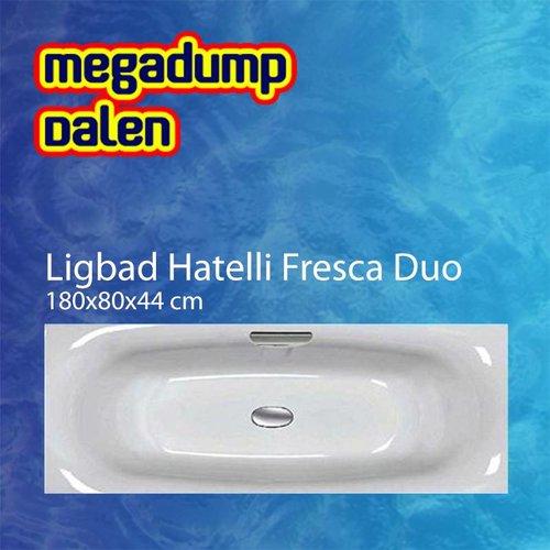 Ligbad Hatelli Fresca duo 180x80x44 cm