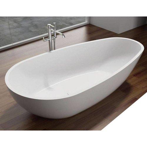 ADW Design Vrijstaand bad Puur 180x90x58cm Solid Surface Glans Wit