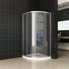 Aqua Splash Douchecabine Aktie Kwartrond 80x80x190 cm 5mm Helder Glas