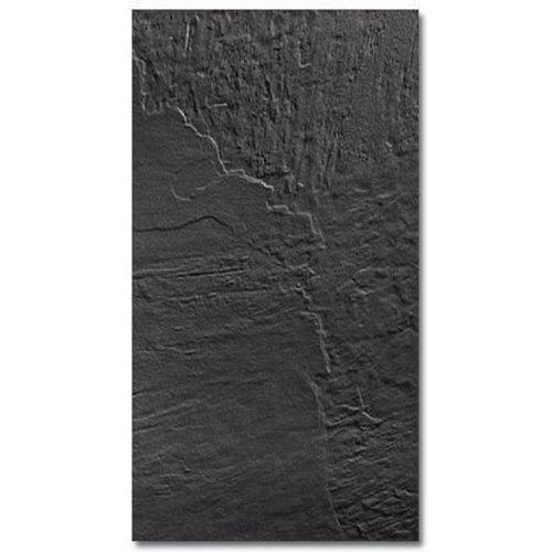 Vloertegel Almeria Negra 33x60cm (Doosinhoud 1,00m²)