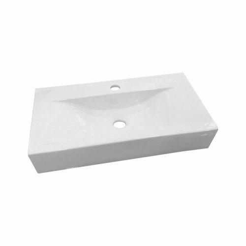 Wastafel Begee Rechthoek zonder overloop 59,5x32,5x11cm