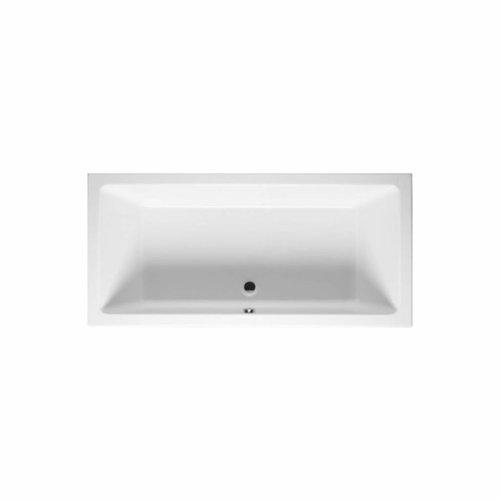 Ligbad Lugo 180x80 Velvet White (Mat Wit)