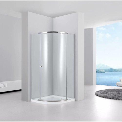 Aqua Relax Douchecabine kwartrond Joy 90x90x200 cm 6 mm glas