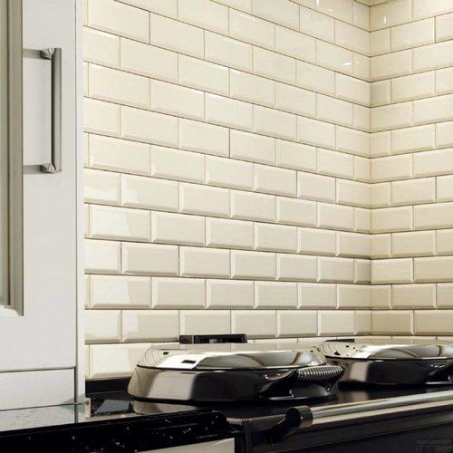 Wandtegel Biselado 15x20 Blanco (Doosinhoud 1,00m²)