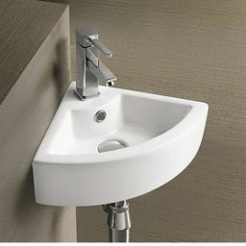 Aqua Splash Hoekfontein Inanna 445X325X130 Wit
