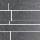 Ardosia Tegel stroken Ardosia Listone Grigio set van 5,10 en 15x60 CM p/m²