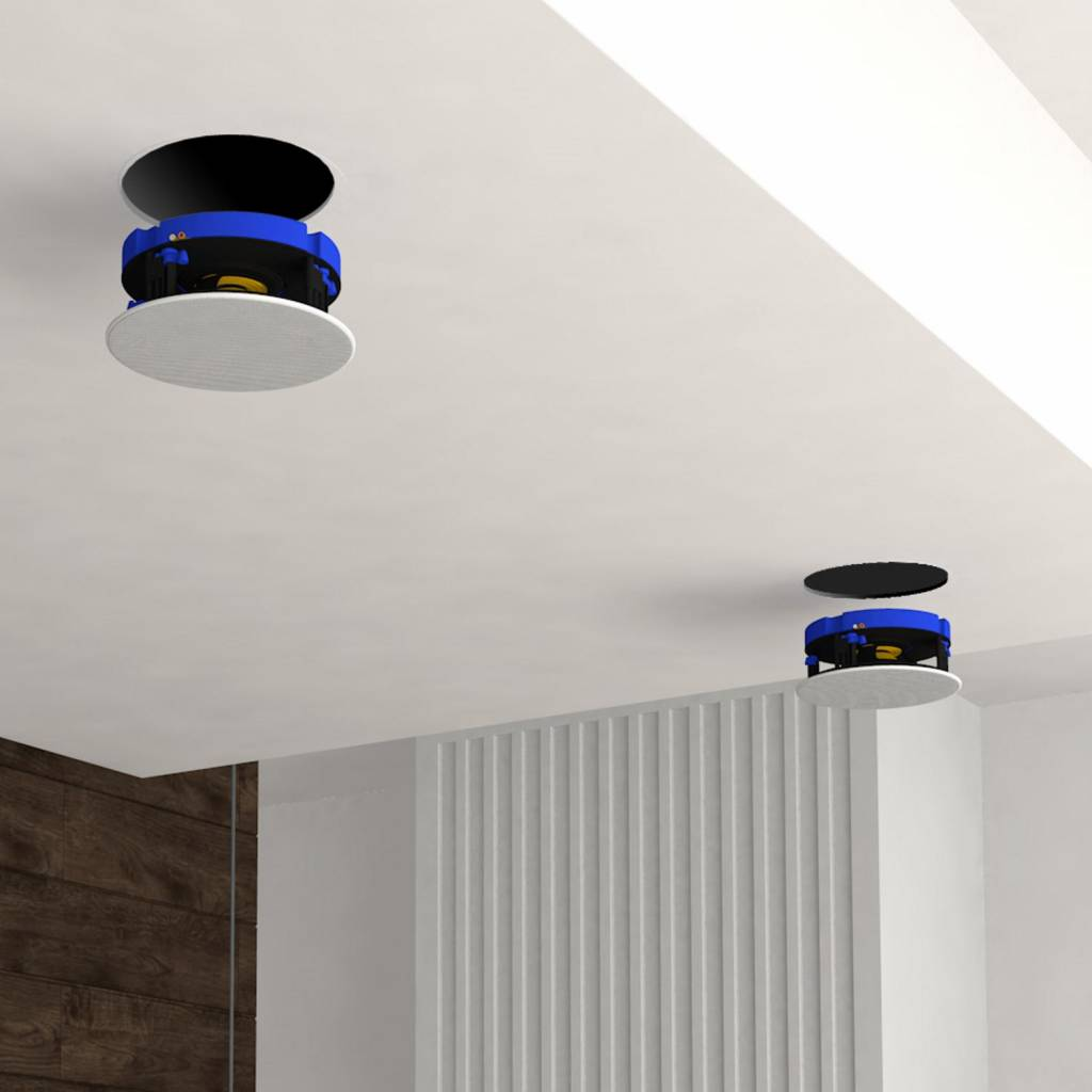 Aquasound Speakerset Move Bluetooth 4.0 Wit (21cm) 70 Watt (230V/12V ...