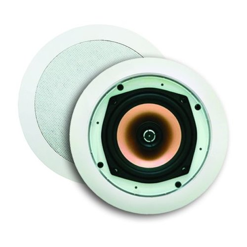 Speakerset Samba (draaibare Tweeter) Wit Rond 215mm