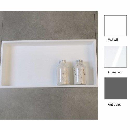 Inbouwnis 59.5x29.5x8 cm (in 3 kleuren verkrijgbaar)