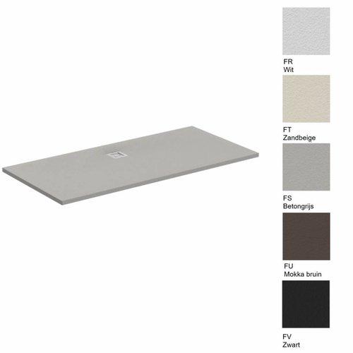 Douchebak Ultra Flat Solid Rechthoek (in 5 afmetingen en 5 kleuren)