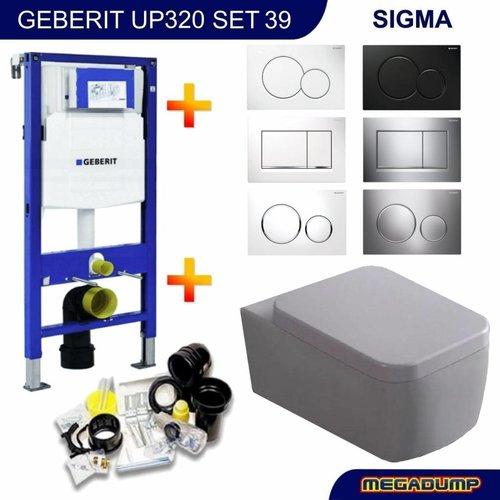 UP320 Toiletset 39 Wiesbaden Larx met Sigma drukplaat