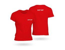 T-Shirt Rossa JUST EAT