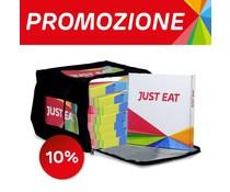 100 Scatole Pizza  + 1 Borsa Termica Porta Pizza da 8