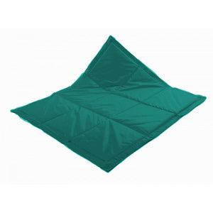 Speelkleed inloopbox in smaragdgroen 1.16 x 2.89 mt