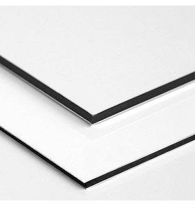 DiBond wit, aluminium plaat